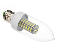 Luces LED en Vela E26/E27 7W 118 SMD 3528 620-640 LM Blanco Fresco AC 100-240 V