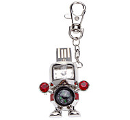 Handsome Robot with Watch and Compass Flash Drive 8G