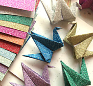 Flash Powder Papercranes Origami Materiales (12 Piezas)