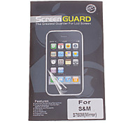 Professional Mirror Film Anti-Glare LCD Screen Guard Protector for Samsung Galaxy Discover S730M/S750M