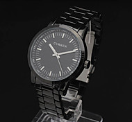Mode Pc mouvements anormaux Steel Band Wrist Montre Homme