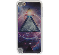 Mystery Design Metal Triangle Pattern Epoxy Hard Case for iPod Touch 5