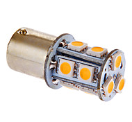 BA15S/1156 3W 13x5050SMD 117LM 3000-3500K Warm White Light LED Bulb for Car (DC 12V)