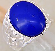 (1 PC) de las mujeres de Royal Blue Turquoise Ring (Royal Blue)