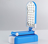1.2W 27-LED Adjustable Rechargeable Fold Table/Desk Lamps(Blue)
