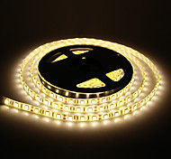 Waterdichte 5M 60W 60x5050SMD 3000-3600LM 2800-3200K Warm Wit Licht LED Light Strip (DC12V)