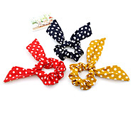 Rabbit Dot Hair Ties