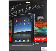 Three Pieces Packed Professional High Transparency LCD Film Gurad Set with Cleaning Cloth for iPad Air