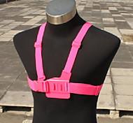 Brustgurt für Gopro HD Hero 2 und 3 (Pink)