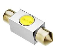 Festoon 1W 5050SMD 80-100LM 6000K Cool White Light LED Bulb (12V)