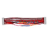 Hot Sale Bohemia Multicolor Fabric Handmade Red Friendship Bracelet