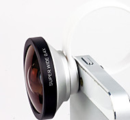 Detachable Clip 140°Super Wide 0.4X Lens with Pouch for iPhone 4/4S, iPad, Mobile Phone and Digital Camera Lens