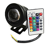 10 W 1 450 LM RGB Remote-Controlled Spot Lights DC 12 V