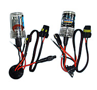 12v 35W Xenon Slim Hid Kit H7 Hid Kit Sigle Bulbs Xenon Color 6000W