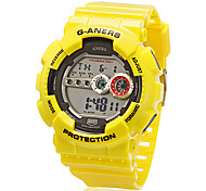 Unisex Digital Multi-Functional Silicone Band Sporty Wrist Watch (Assorted Colors)