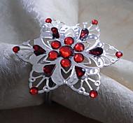Снежинка Салфетка кольцо, акриловые