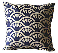 Fan Flower Decorative Pillow Cover