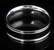 Fashion Men'S Silver Alloy Band Ring(Silver)(1 Pc)