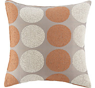 "18"" Squard Fashion Dot Textured Chenille  Polyester Decorative Pillow Cover"
