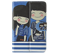 Girl&Boy Pattern General Case with Pen and Screen Protector for 7' Google/Asus/Amazon Tablet