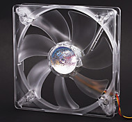 AK-FN074 14cm Blue/Red LED Quiet Fan with 3-4 Pin Adapter for PC