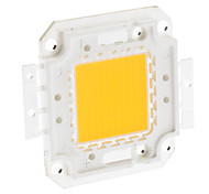 DIY 100W 7900-8000LM 3000mA 3000-3500K Warm White Light Integrierte LED-Module (32-36V)