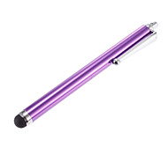 Upscale Purple Stylus Touch Pen with Clip for iPhone and iPad