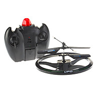 2CH UFO Aircraft RC Flying Ball with Gyro (Black)