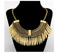 Exaggerate Vintage Water-Drop Statement Necklace