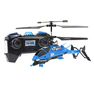 3.5ch RC Helicopter with Gyro & LED Light (Assorted Color)