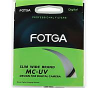 Fotga 55mm Ultra Slim Pro6 Mc Multi-Coated UV Ultraviolett-Filter Objektiv-Schutz