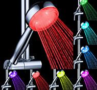 Water Flow Power Generation Farbwechsel LED ABS Handdusche