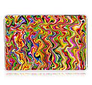 huile peinture des lignes de modèle en plastique cas pour l'ipad mini-3, Mini iPad 2, ipad mini-