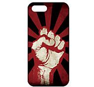 Puño Patrón duro para el iPhone 5/5S