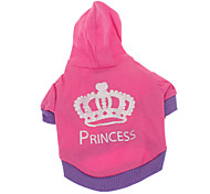 Dog Coat / Hoodie Rose Winter Tiaras & Crowns