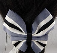 Fashion Beautiful Gray Bowknot Hairpins for Women