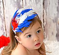 Elegante Feather Headband da menina