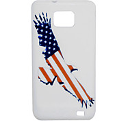 VORMOR® Union Jack Pattern TPU Soft Case for Samsung S2 i9100