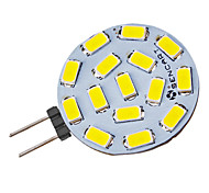 G4 4.5 W 15 SMD 5730 310-320 LM Cool White Spot Lights V