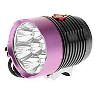 Luci bici , Torce LED / Luci bici - 3 Modo 6000 Lumens 18650 x 4 BatteriaCampeggio/Escursionismo/Speleologia / Uso quotidiano /