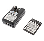 1500mAh remplacement Li-ion Battery + Battery Charging Stand pour Samsung Galaxy ACE S5830