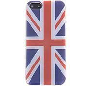 Caso Union Jack Flag modello posteriore per iPhone 5/5S