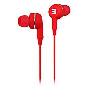 SENIC IS-R28 pliable In-Ear Earphonefor PC / iPhone / iPod / iPad / Samsung