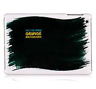 noir peinture modèle en plastique cas pour l'ipad mini-3, Mini iPad 2, ipad mini-