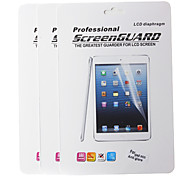 Professional Anti-glare LCD Screen Protector for iPad mini 3 iPad mini 2 iPad mini w/ Cleaning Cloth (3 pcs)