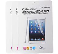 Protector de pantalla anti-reflejo profesional para Mini iPad 3 Mini ipad 2 ipad Mini w / paño de limpieza (3 piezas)