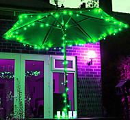 22M 200 LED RGB luz de tira solar del LED para las decoraciones de Navidad