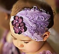 Elegante Blumen-Stirnband-Mädchens