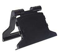 ABS Plastic Black TV Clip Mount Stand Holder Dock Bracket for Microsoft Xbox 360 Slim Kinect Sensor Eye