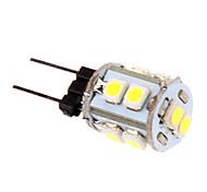 G4 3 W 10 SMD 2835 210 LM Koel wit T Maïslampen DC 12 V